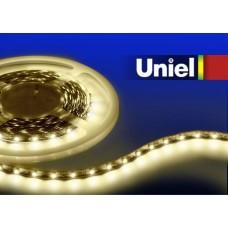 Светодиодная лента (0UL-00000201) теплый белый ULS-Q321 2835-60LED/m-8mm-IP20-DC12V-4,8W/m-3M-WW