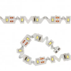 Светодиодная лента (10778) 3M холодный белый 18W ULS-Z02-3014-60LED/m-8mm-IP20-DC12V-6W/m-3M-DW