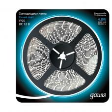 Светодиодная лента Gauss 5M синий 4,8W IP20 312000505