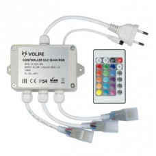 Контроллер для светодиодных RGB лент 220В с пультом ДУ (UL-00002275) Volpe ULC-Q444 RGB White