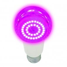 Лампа светодиодная для растений (UL-00006260) Uniel E27 14W прозрачная LED-A60-14W/SPSB/E27/CL PLP30WH