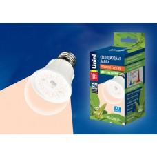Лампа светодиодная Uniel для растений (UL-00001820) E27 10W шар прозрачный LED-A60-10W/SPFR/E27/CL PLP01WH