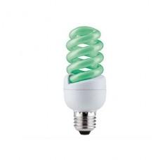 Лампа энергосберегающая Paulmann Е27 15W спираль зеленая 88089