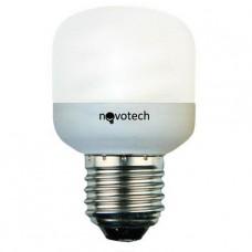 Лампа энергосберегающая Novotech E14 9W 4100К мини-цилиндр матовый 321029