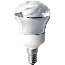Лампа энергосберегающая Наносвет E14 7W 2700K прозрачная ES-50R07/E14/827 Е053