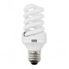 Лампа энергосберегающая (04950) Uniel Е27 15W 2700K спираль матовая ESL-S03-15/2700/E27
