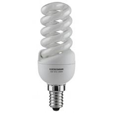 Лампа энергосберегающая Elektrostandard SMT E14 13W 2700К мини-спираль желтый 4607176190175