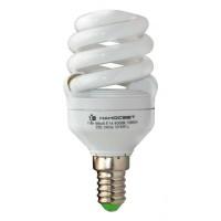Лампа энергосберегающая Наносвет E14 11W 2700K матовая ES-SPU11/E14/827 E083