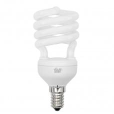 Лампа энергосберегающая Volpe (01696) E14 15W 6400K спираль матовая CFL-S T2 220-240V 15W E14 6400K
