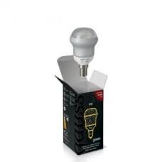 Лампа энергосберегающая Gauss E14 9W 2700K шар матовый 131109