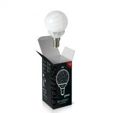 Лампа энергосберегающая Gauss E14 9W 2700K шар матовый 231109