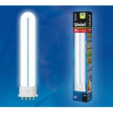 Лампа энергосберегающая Uniel (05936) 2G7 11W 4000K cпираль белая ESL-PL-11/4000/2G7