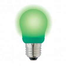 Лампа энергосберегающая Uniel (03039) E27 9W Green шар зеленый ESL-G45-9/GREEN/E27