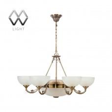 Подвесная люстра MW-Light Олимп 318011408