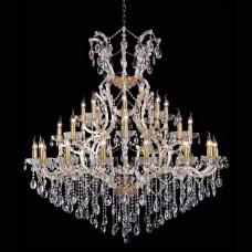 Подвесная люстра Crystal Lux Hollywood SP16+8+8 Gold